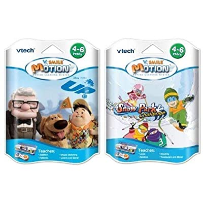 V Smile V Motion Game Bundle - Snow Park & Up!: Toys & Games