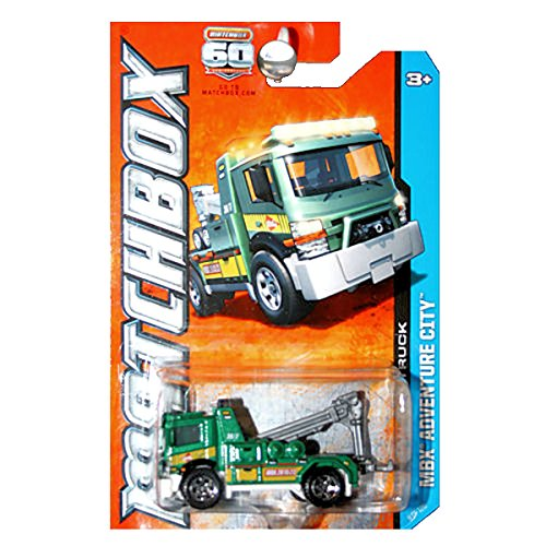 Matchbox 2013 MBX Adventure City Urban Tow Truck ()
