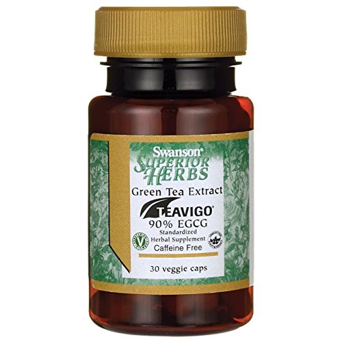- Swanson Teavigo Green Tea Extract 90% Egcg 30 Veg Capsules