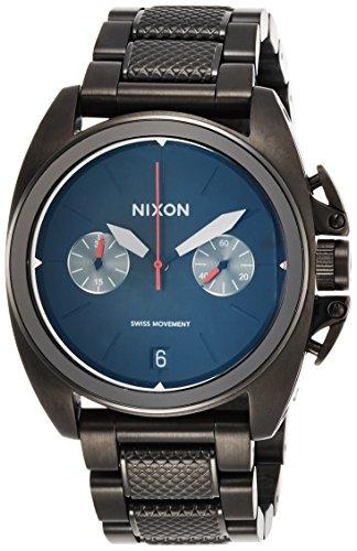 [ニクソン]NIXON ANTHEM CHRONO: ALL BLACK NA930001-00 メンズ