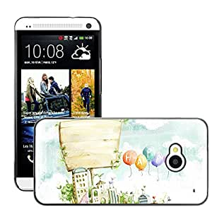 Hot Style Cell Phone PC Hard Case Cover // M00044580 55 drawings 2d art digital // HTC One M7