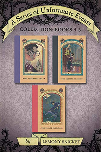 (A Series of Unfortunate Events Collection: Books 4-6 (A Series of Unfortunate Events Boxset Book 2))