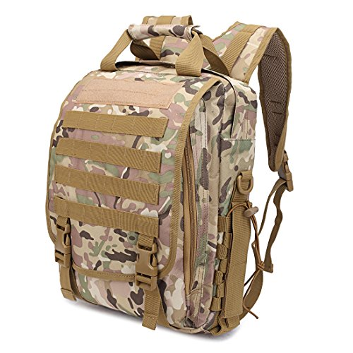10L Tactical Backpack Military Laptop Bag 0.8kg Waterproof Oxford Double Shoulder Bag Army Camping