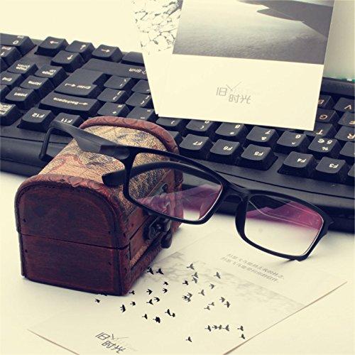 aucun degré de verres de lunettes section star des jeux informatiques des marées et des yeux de lunettes tide. Polonais (tissu)