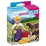 Playmobil Country Woman with Calves Playset