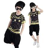 Moyuqi Children Jazz Street DancewearGirl And Boy Dancewear Hip Hop Stage Costumes (120cm)