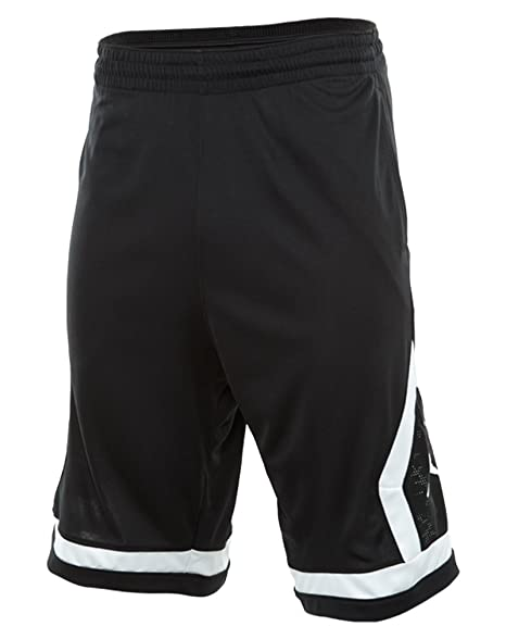 Nike Mens Jordan Flight Diamond Basketball Shorts Black/White 576978-010  Size 2X-
