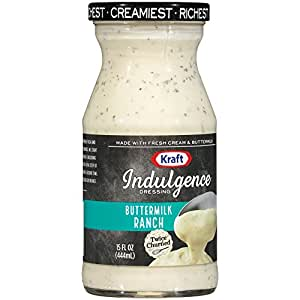 Kraft Brand Dressing Indulgence Buttermilk Ranch Dressing, 15 oz