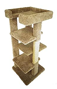 good Large Cat Tree Tower with Cat Scratching Posts and 4 Cat Perches by New Cat Condos