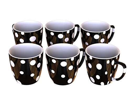 Tea Cups - Perfect Cups - Tea - Coffee - Cappuccino - Unbreakable (Shatter Proof Food Grade Plastic) 150 Ml - Set Of 6-5-ounce each by Stallion Barware Manufacturing Company (Image #3)
