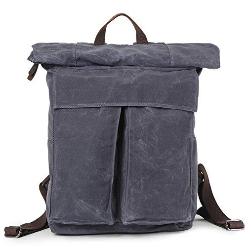mefly viajes hombres de mochila ocio Simple impermeable Super gran capacidad, azul marino azul marino
