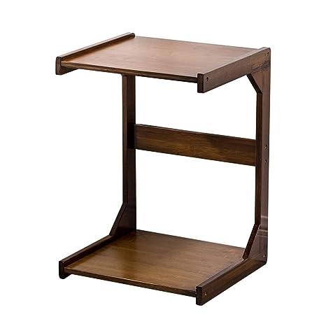 Amazon.com: Wood Side Tables Sofa End Table Small Coffee ...