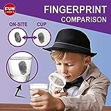 Spy Fingerprint Kit, FunKidz Detective Spy Kit for
