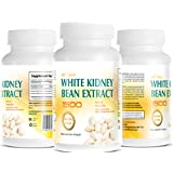 White Kidney Bean Extract -1500 Extreme Natural and Pure Carb Blocker - Appetite Surpressant - Advance formula Garcina Cambogia Apple Cider Vingar Chitosan and more - 100% Satisfaction Guarantee -