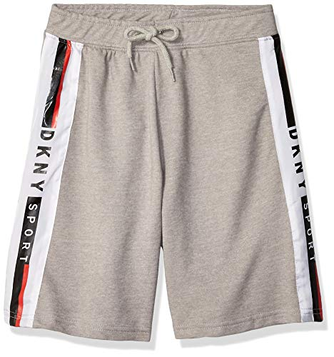 - DKNY Boys' Big French Terry Short, Side Logo Griffin, 14/16