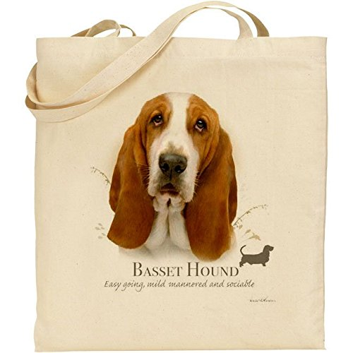 Howard Robinson Basset Hound, in cotone, colore: naturale