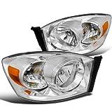 spec-d tuning 2lh-dgp06-rs Dodge Ram Euro Barra de diamante faros delanteros w/o ámbar chapado