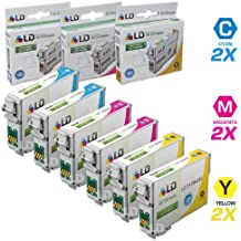 LD Products Remanufactured Ink Cartridge Replacement for Epson T126 ( Black,Cyan,Magenta,Yellow , 6-pack)