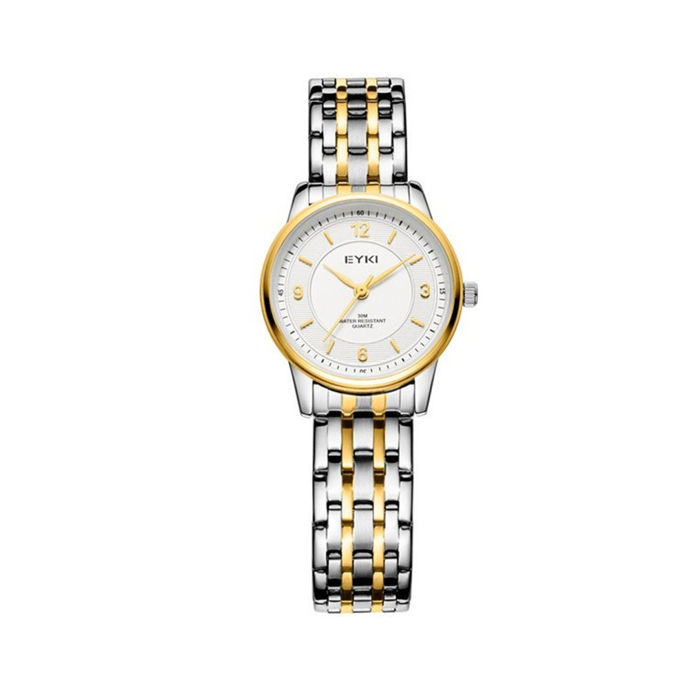 TIDOO Gold Women Watches Luxury Water Resistant Montre Femme Stainless Steel Dress Woman Wrist Watches by TIDOO (Image #1)