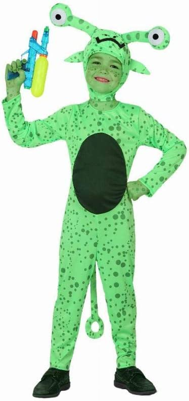 Atosa-16088 Disfraz Alien, color verde, 7 a 9 años (16088): Amazon ...