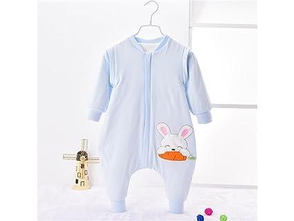 OVVO - Saco de dormir con estampado de conejo para bebés recién nacidos (0-