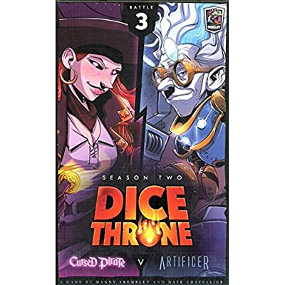 Cursed Pirate Vs Artificer - Dice Throne: Season Two Board Game: Toys & Games