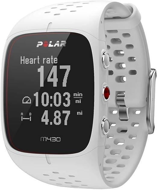 Polar M430 - Reloj de Correr con GPS y Frecuencia cardíaca en la muñeca - Multideporte - Actividad 24/7 - Blanco, S: Amazon.es: Deportes y aire libre