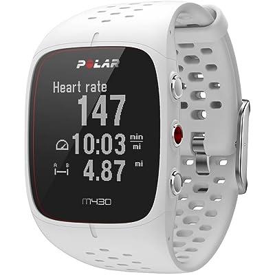 Polar M430 - Reloj de Correr con GPS y Frecuencia cardíaca en la muñeca - Multideporte - Actividad 24/7 - Blanco, S