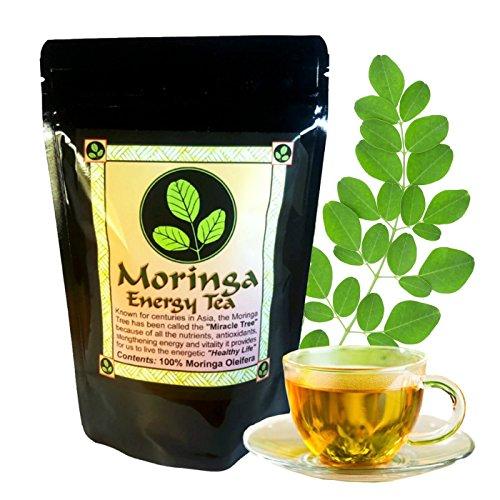 MORINGA ENERGY TEA - Ayurveda's Famous Energy Boosting Tea, All Natural Moringa Leaf, Helps to Rejuvenate the Vitality of the Body, Providing Wellness, Strength and Energy in these Moringa Tea bags