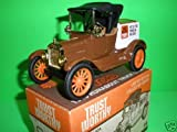 Trust Worthy 1918 Ford Runabout Truck Bank Replica Ertl #4