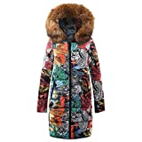 Clearance Womens Outwear COPPEN Winter Long Down Cotton Christmas Parka Hooded Coat Quilted Jacket