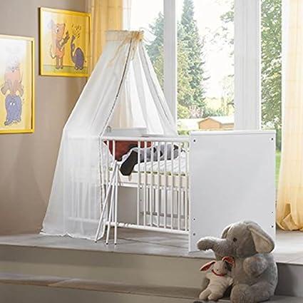 Baby Cama Cuna espalderas cama fiete 70 x 140 Incluye somier ...