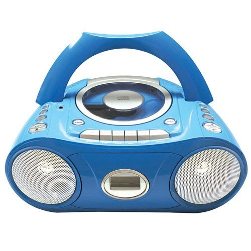 Cd / Cassette Player / Recorder With Fm Radio