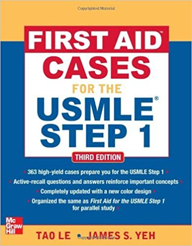 First Aid Cases for the USMLE Step 1, Third Edition (First