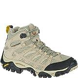 Merrell Women's Moab Ventilator Mid Hiking Boot,Taupe,6 M US