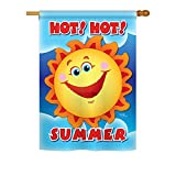 Cheap Hot Hot Summer Indoor/Outdoor Sublimation Flag 28″ X 40″ 06055