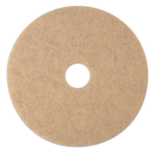 - 3M Ultra High-Speed Natural Blend Floor Burnishing Pads 3500, 20-Inch, Natural Tan - Includes 5 pads per case.