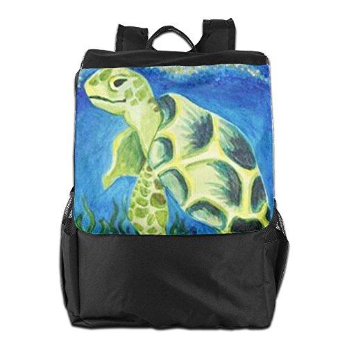 HSVCUY And Women For School Sea Camping Shoulder Personalized Men Outdoors Strap Travel Dayback Turtles Storage Backpack Adjustable r61OrCcy