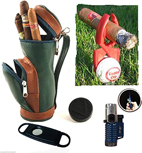 Golf Bag Cigar Humidor - 5