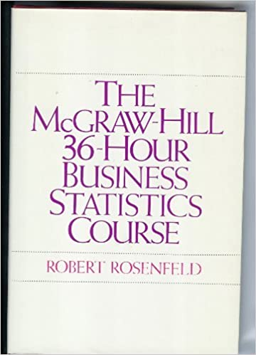 Amazon com: The McGraw-Hill 36-Hour Business Statistics