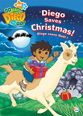 Go Diego Go! Diego Saves Christmas: Amazon.ca: DVD: DVD