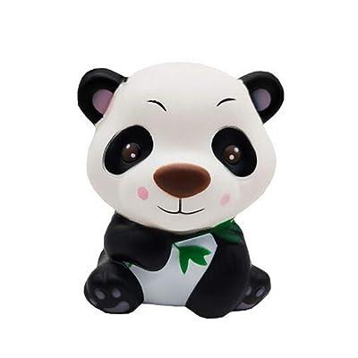 GYKFY Squishy perfumado Super Cute Panda Kawaii Muy Lento Aumento Niños Juguetes Muñeca Regalo Alivio del estrés Toy Hop Props Accesorios Decorativos: Hogar