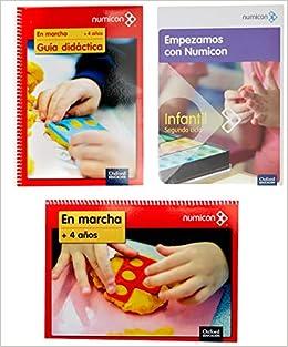 Pack Caja Numircon Primeros Pasos 3+4 años + 25 Cuadernos 4 años: Amazon.es: Aa.Vv.: Libros