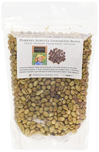 Peaberry Green Coffee - 9