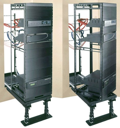 Rotating AXS System for Millwork and In-Wall Rack Spaces: 43U Space, Guide Kit: Included