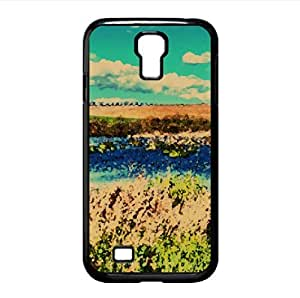 Lake HDR Watercolor style Cover Samsung Galaxy S4 I9500 Case (Lakes Watercolor style Cover Samsung Galaxy S4 I9500 Case)