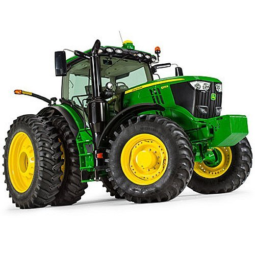 ERTL 1/32 Scale John Deere 6215R Tractor Toy Prestige Collection 45522 -LP53315