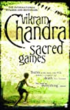 Front cover for the book Sacred Games by Vikram Chandra