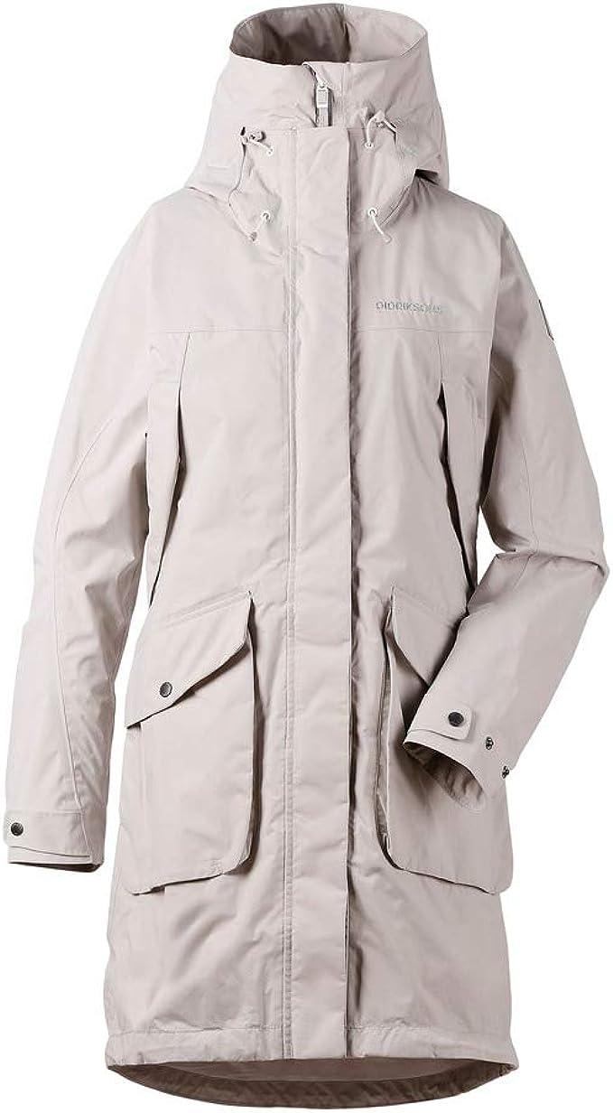 PicClick Insights - Didriksons Thelma Womens Parka Waterproof Longer Length Coat PicClick Exclusive