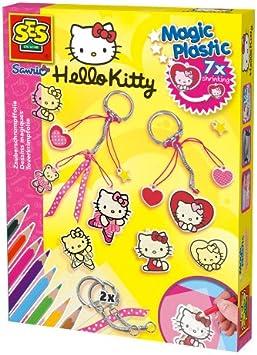 SES Creative - Kit para Hacer llaveros, diseño de Hello Kitty ...